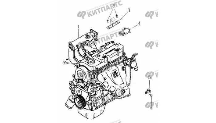Клапан адсорбера BYD F3 (F3R)