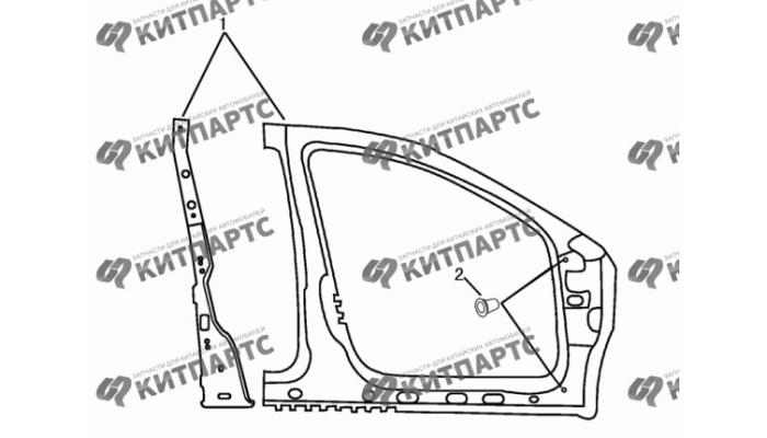 Стойки панели кузова средние Dong Feng S30