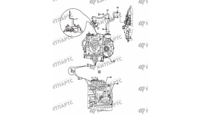 Внешние детали АКПП, часть 2 FAW Besturn X80