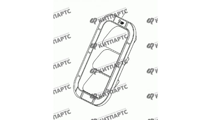 Вентиляция багажника (хетчбэк) Geely Emgrand (EC7)