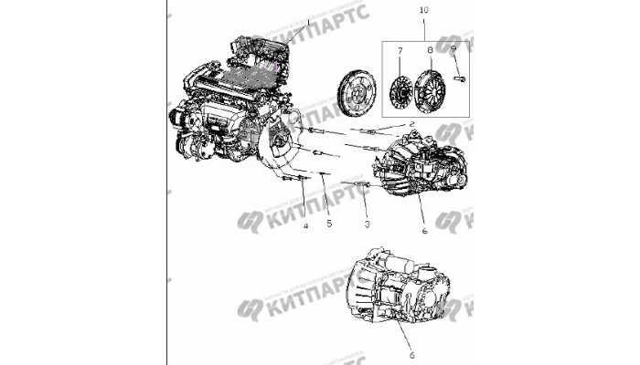 Двигатель MR479QA в сборе Geely Otaka (CK)